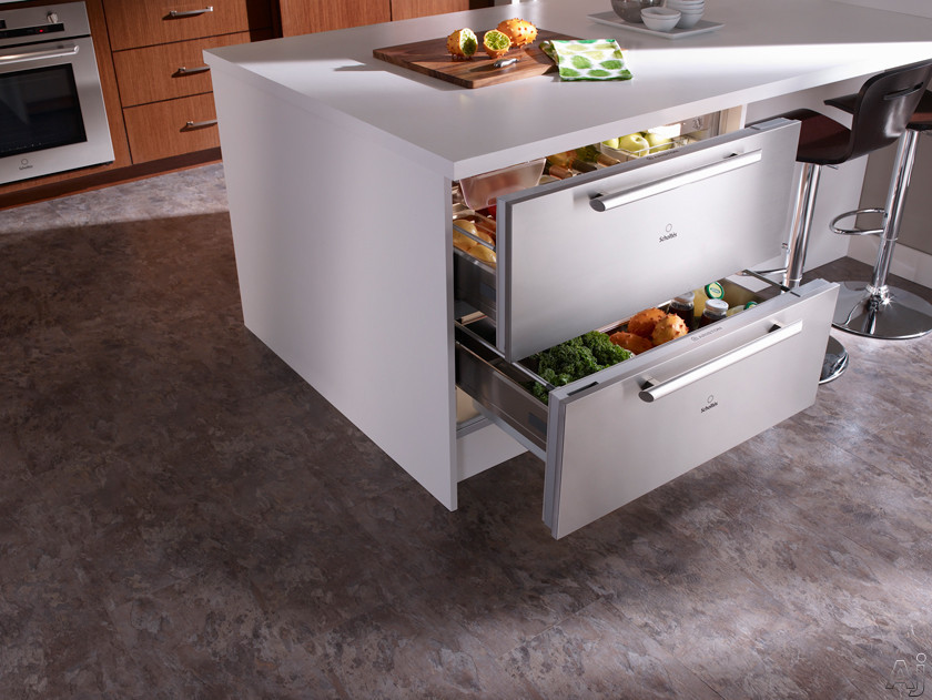Kitchen refrigerator drawers for New trends in kitchen appliances