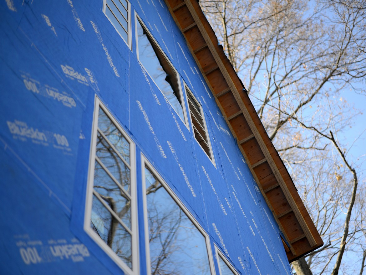 A Solid Exterior Air and Water Barrier Has Some Unanticipated Payoffs | Sabine's New House