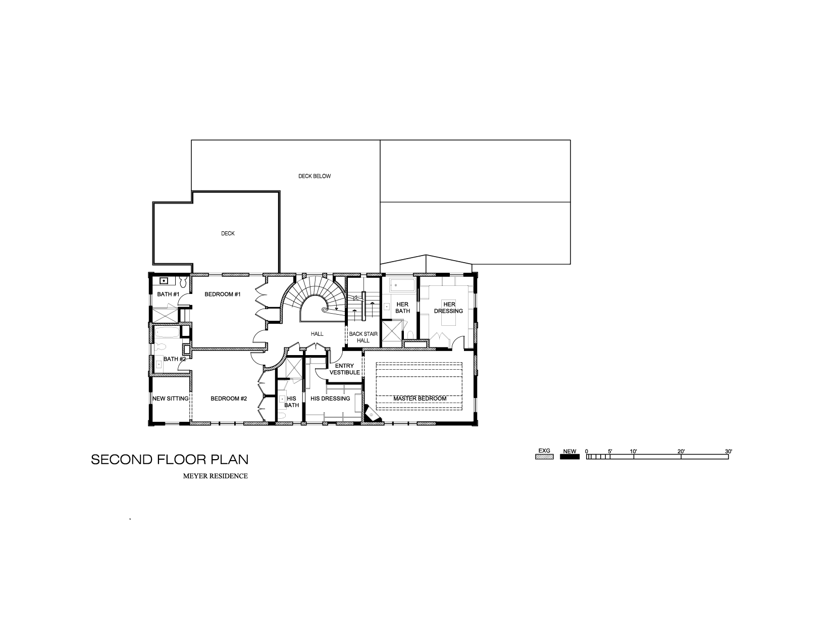 Presentation Drawings 2nd Floor Plan -01