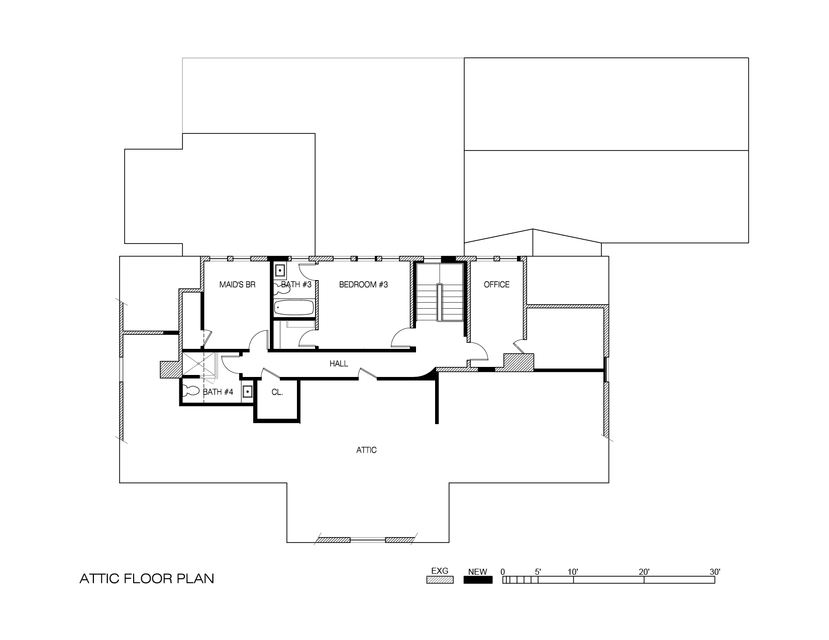 Presentation Drawings Attic Floor Plans-01