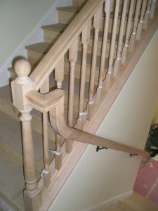 Example of Goose-Neck Railing