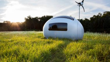 Looking At A Tiny House? Check This Space-Age Option
