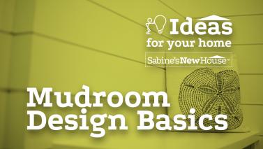 Mudroom Design Basics
