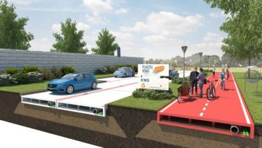 Could A Recycled Plastic Road Lead To Recycled Driveways?