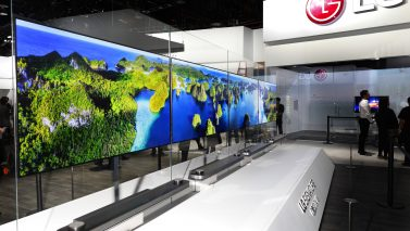 LG Takes Television Design To A Whole New Dimension