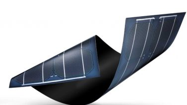 Sunflare Reveals New Flexible Solar Material at CES