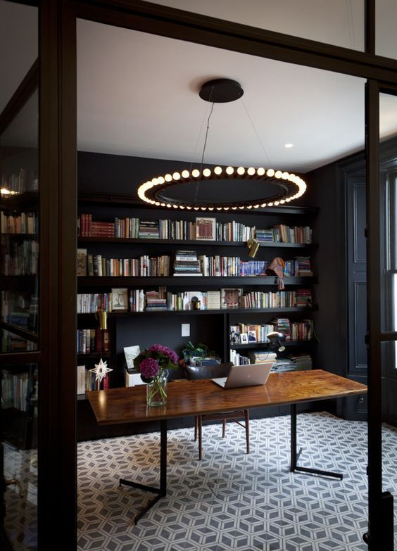 Design Trend: Evolution Of The Home Library | Sabine\'s New House
