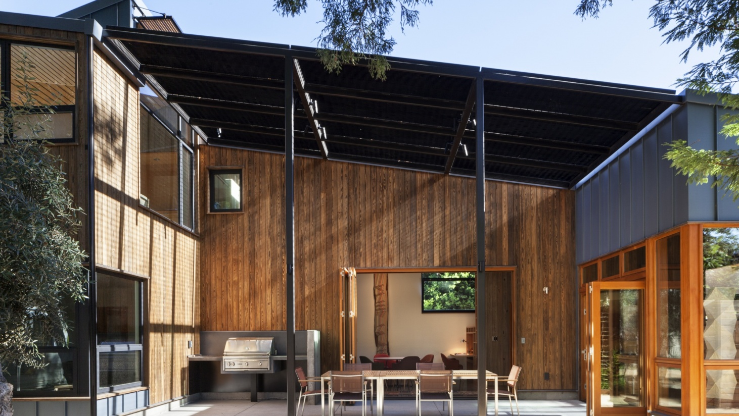 Softwood Becomes The New Hardwood Sabines House